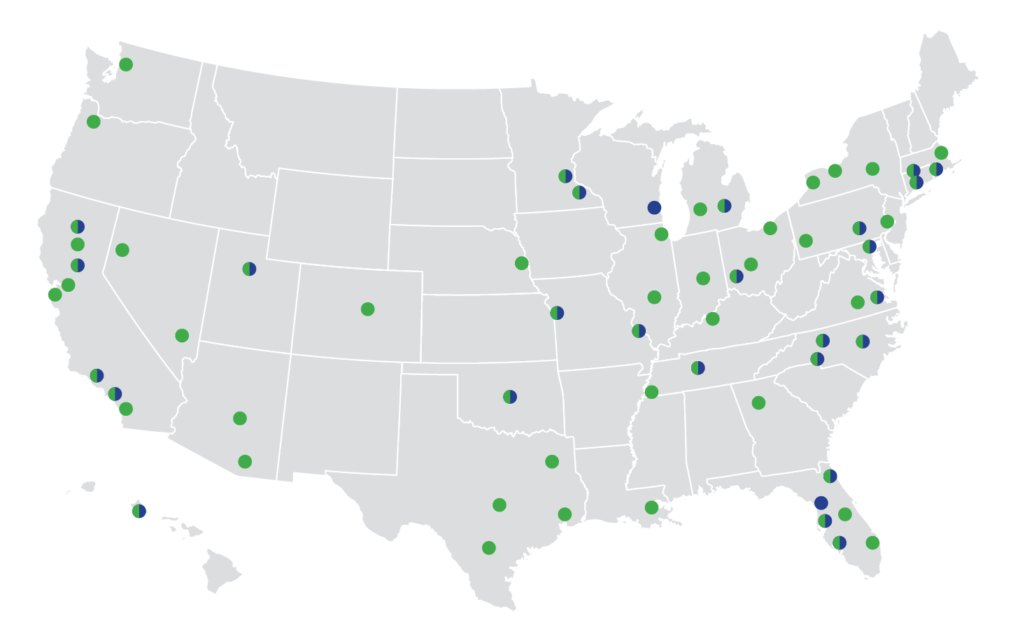 Map of Network